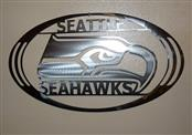Sign SEAHAWKS METAL SIGN